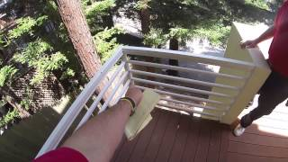 Golden Gate Enterprises Glass Railing Contractor Victoria Master Bedroom Deck
