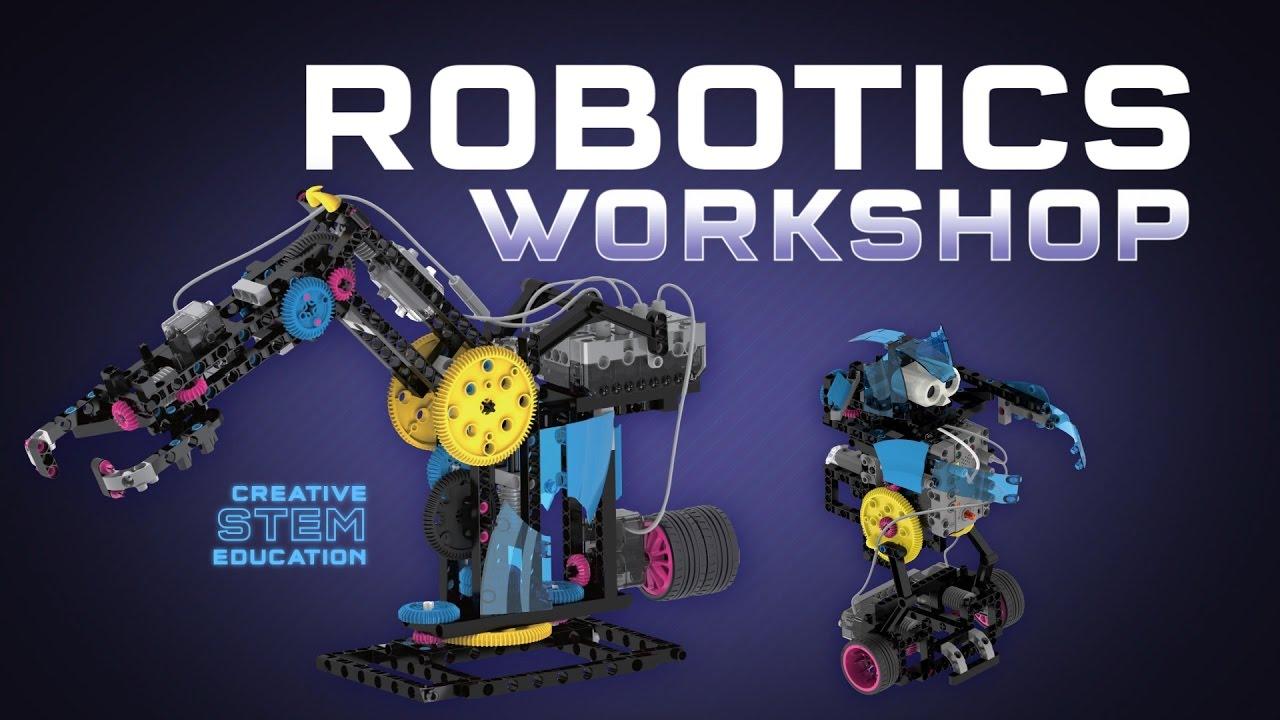 Robotics Workshop By Thames Kosmos Youtube