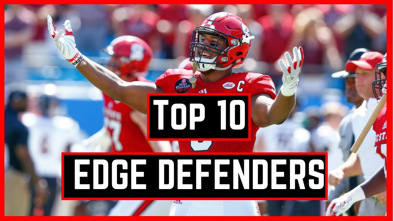 Top 10 Edge Rushers in The 2018 NFL Draft | NFL Draft Rankings 2018