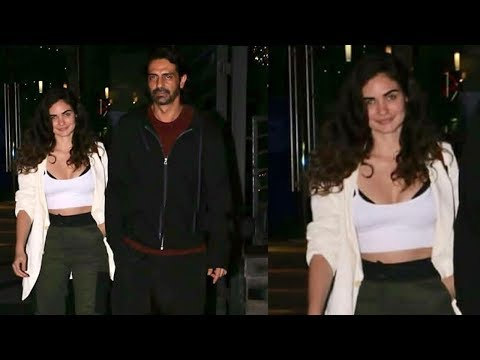 Arjun Rampal freely Roames With New Girlfriend Gabriella Demetriades After Divorce With Mehr Jesia Mp3