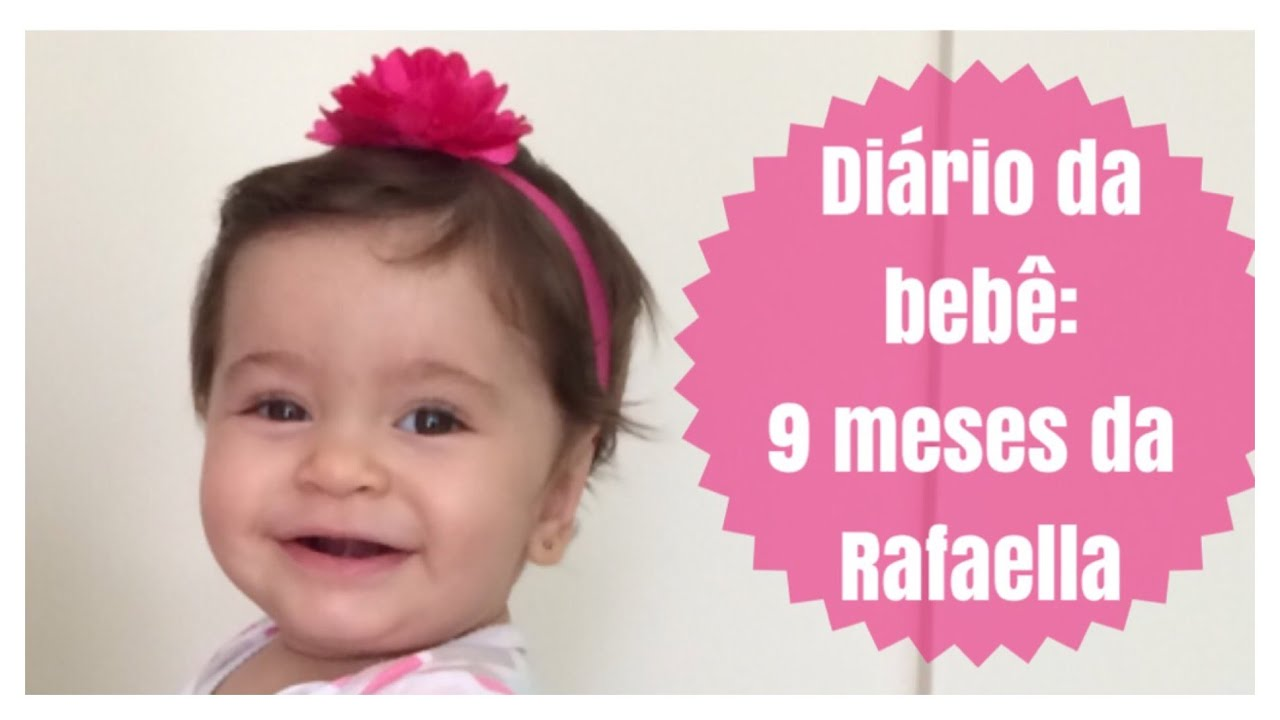 Di rio da beb 9 meses da rafaella youtube - Quitar mocos bebe 9 meses ...