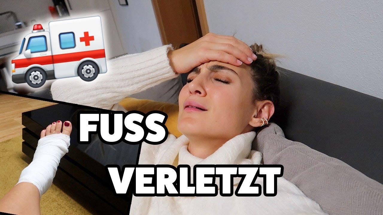 Download FUSS VERLETZT 🤕UNFALL ZU HAUSE 🚑| TBATB