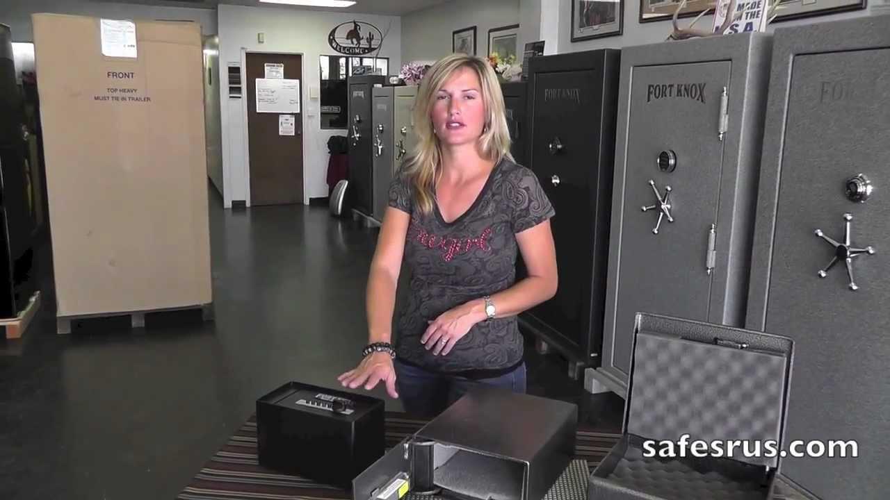 Fort Knox Safes Pistol Boxes Safes R Us Youtube