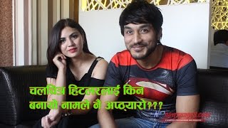 Interview with Sohit & Samiya ll New Nepali Movie-HITLER ll