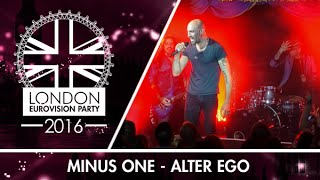 Minus One - Alter Ego (Cyprus) | LIVE | London Eurovision Party 2016
