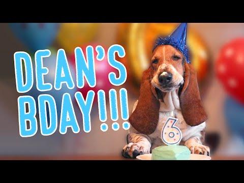 Dean's 6th BIRTHDAY! 🎈