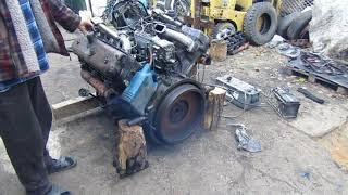 запустили двигатель ЯМЗ 236.