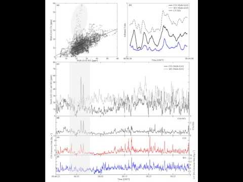 High time resolution fluctuations in volcanic carbon dioxide degassing from Mount Etna
