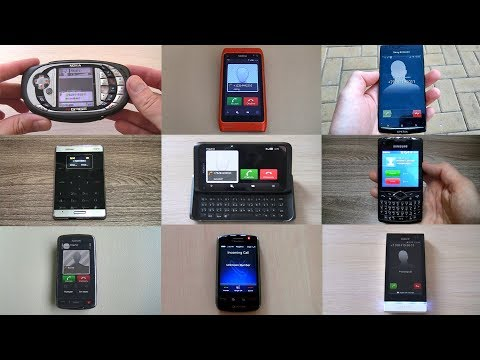 All My Old Smartphones