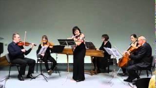 Johann Joachim Quantz: Flute Concerto g-minor, Ivica Gabrišová, flauta