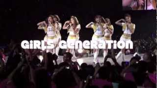 SMTOWN WORLD TOUR III ~ 2012 LA TEASER  [FANMADE]