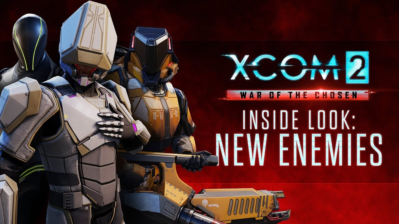 xcom 2 war of the chosen inside look new enemies youtube. Black Bedroom Furniture Sets. Home Design Ideas