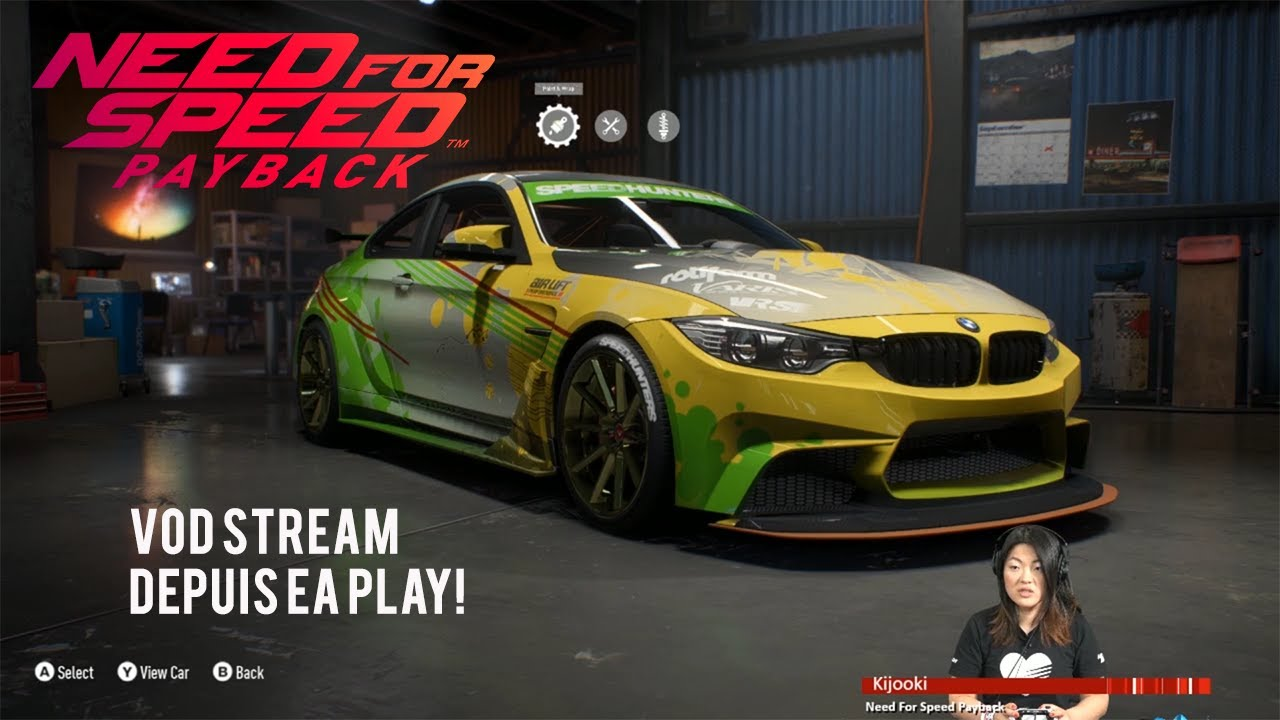 need for speed payback livestream depuis l ea play gameplay fr youtube. Black Bedroom Furniture Sets. Home Design Ideas