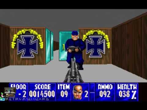 Wolfenstein 3D (3DO) - Gameplay |