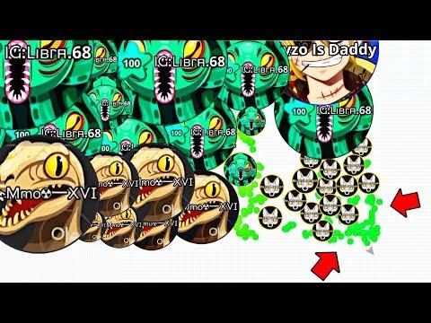 Best Tricks in Agario! (Agar.io Mobile Gameplay!) thumbnail