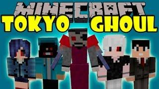 TOKYO GHOUL MOD - Ghouls!, Humanos e Investigadores! - Minecraft mod 1.7.10 Review ESPAÑOL