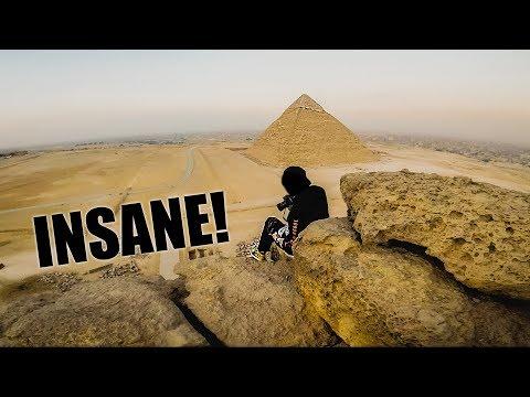 *ESCAPED* WE CLIMBED THE EGYPTIAN PYRAMIDS!