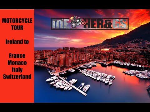Motorcycle Touring France 2016 - Monaco, Italy, Switzerland - BMW R1200GS