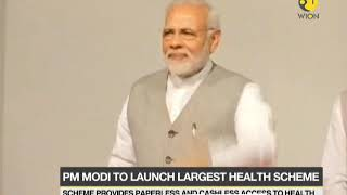 PM to launch world's biggest state-run health Scheme Today