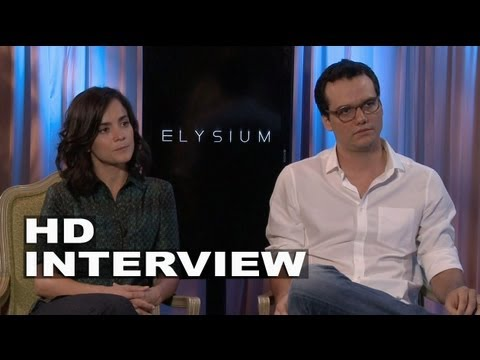 Elysium: Alice Braga & Wagner Moura Interview