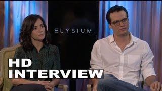 Elysium: Alice Braga & Wagner Moura Interview