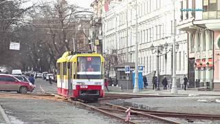 Низкопольные трамваи Одессы: Каштан 5009