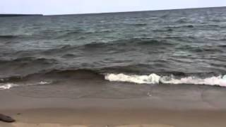 Choppy Day, Lake Superior, Miners Beach