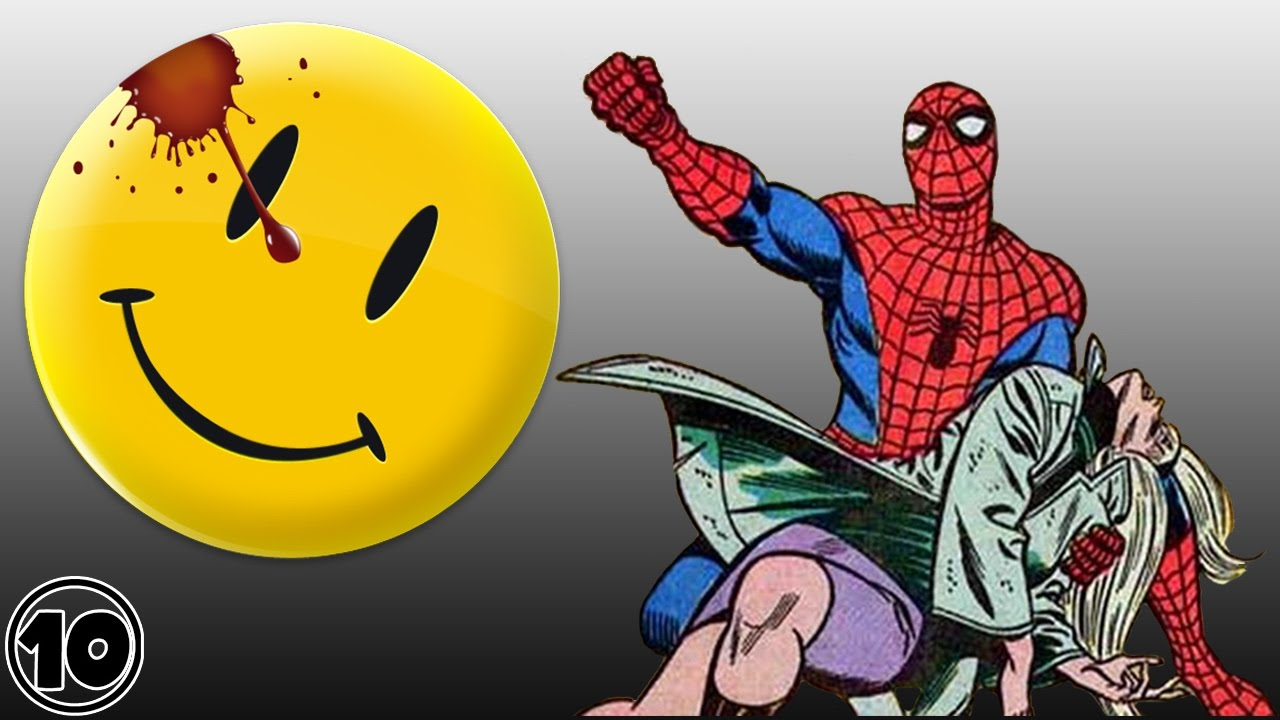 Top 10 Most Iconic Comic Books Of All Time Youtube