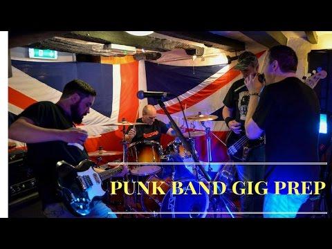 Punk Band Gig Prep | Guttersnipe