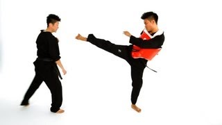 Step Forward Step Back Technique | Taekwondo Training