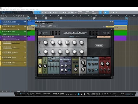 Create Metal Guitar Tones Using Presonus AMPIRE XT