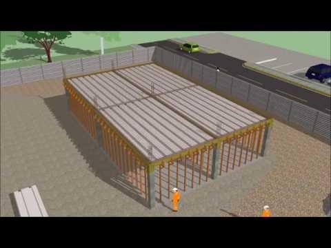 Sistema de losas aligeradas losa lite youtube for Losa techo