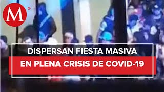 Denuncian fiesta clandestina en Chimalhuacán ante la pandemia de covid-19