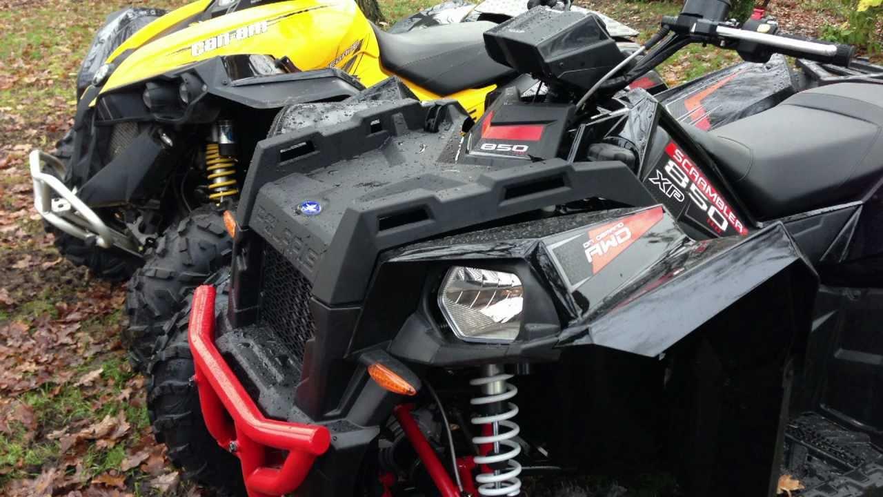 Can Am Renegade 1000 C Vs Polaris Scrambler 850 H O