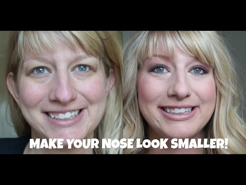 HOW TO: Make a Big Nose Look Smaller | Tips, Tricks and Contouring | Drugstore Tutorial