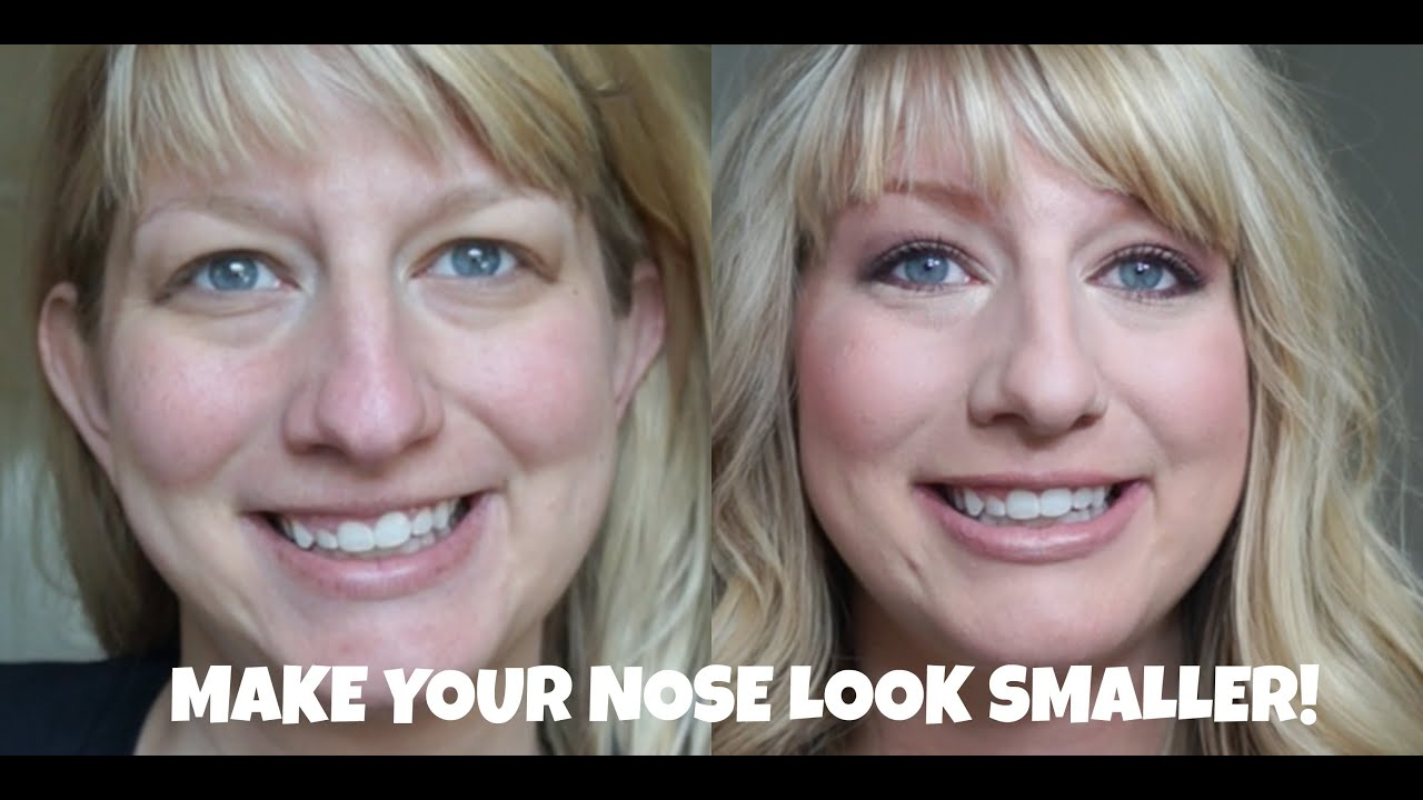 How To: Make A Big Nose Look Smaller  Tips, Tricks And Contouring   Drugstore Tutorial