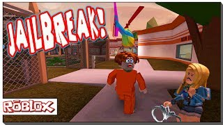ROBLOX JAILBREAK - ESCAPE JAIL WITH A HELICOPTER!