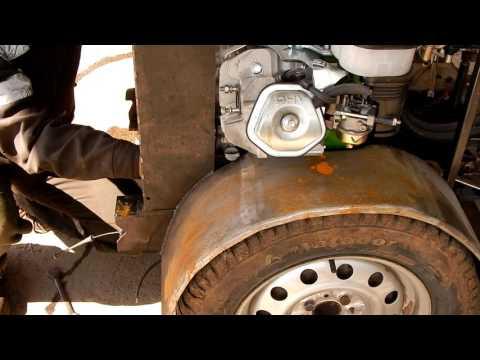 видео: Разборка трактора перед покраской.
