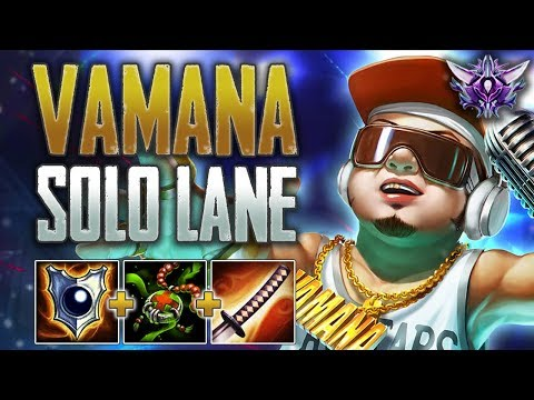Fear the Baby! Vamana Solo - SMITE Masters Ranked Conquest