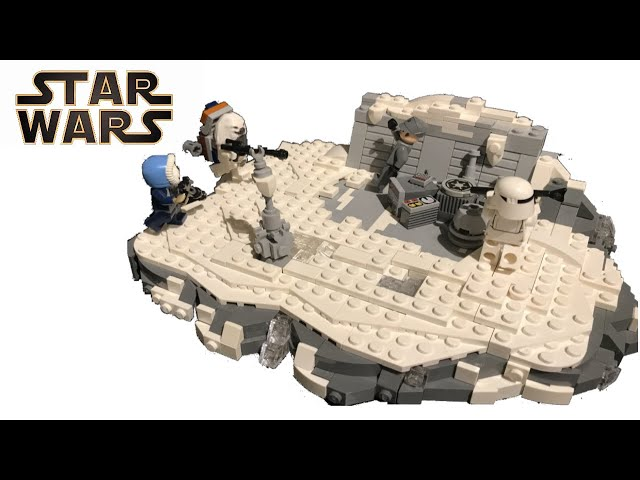 Lego Star Wars Moc /Outpost Defence on Carlac