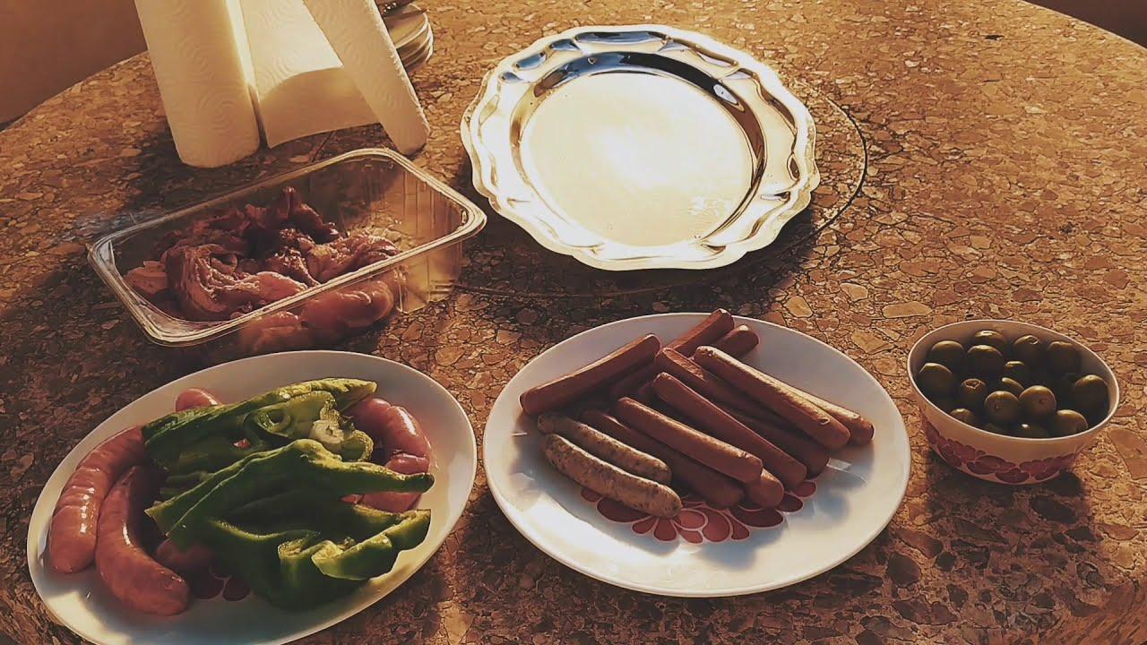 Grilling Time in Cala Rajada Mallorca Spain / Chona Barahan