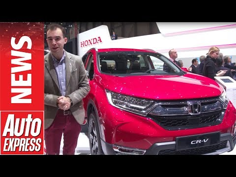New Honda CR-V debuts in Geneva with 7 seats and hybrid power