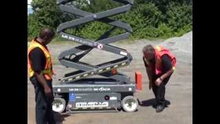 Aerial Lift Operator Familiarization Training Part 3 (Scissor Lift)