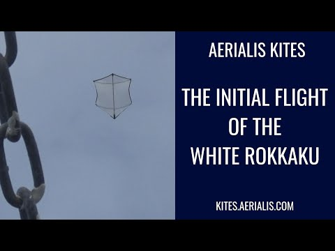 The Initial Flight of the White Rokkaku