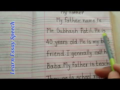 Essay on father