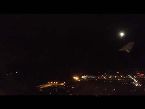 Qantas A330-200 Night Landing at Beijing