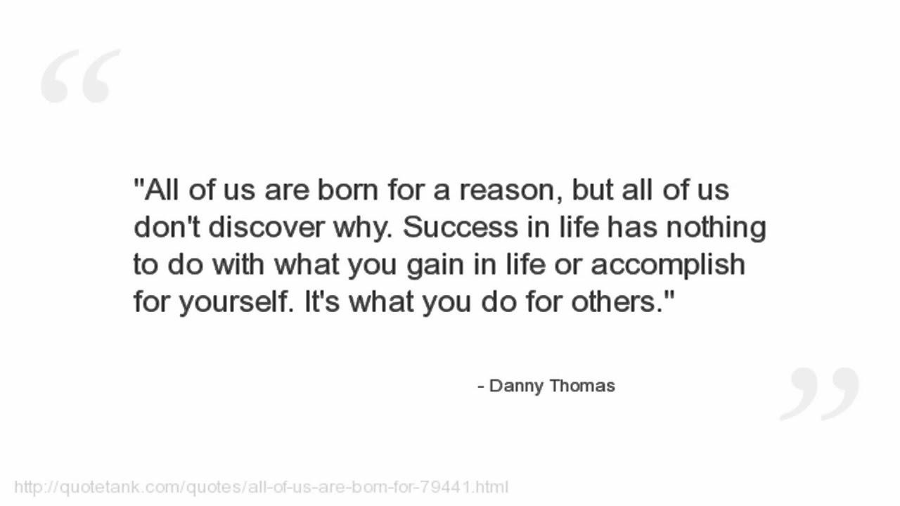Danny Thomas Quotes   YouTube