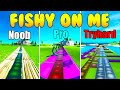 Fishy On Me Noob Vs Pro Vs Tryhard (Fortnite Music Blocks)