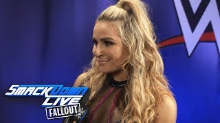 Natalya enters the Women's Royal Rumble Match: SmackDown LIVE Fallout, Dec. 26, 2017