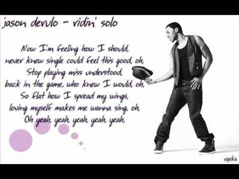Jason Derulo - Ridin' Solo [lyrics]